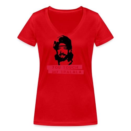 you touch my tralala - Frauen Bio-T-Shirt mit V-Ausschnitt von Stanley & Stella
