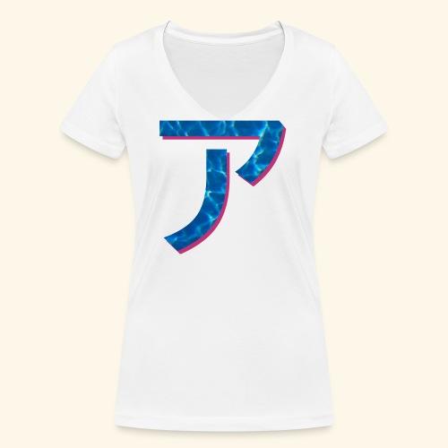 ア logo - T-shirt bio col V Stanley & Stella Femme