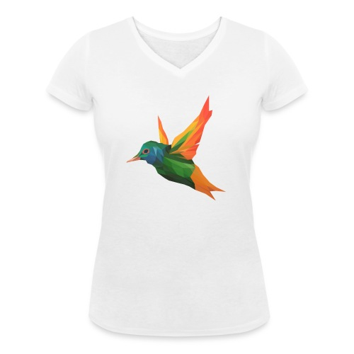 EXOTIC BIRD - MINIMALIST - T-shirt bio col V Stanley & Stella Femme
