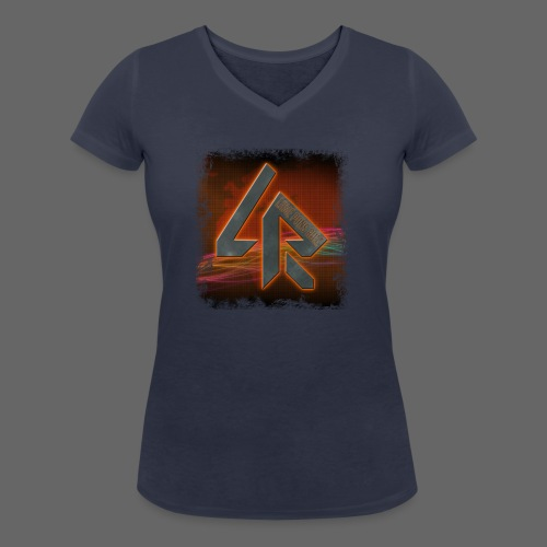 LPR Gaming BG Splash (Women) - Women's Organic V-Neck T-Shirt by Stanley & Stella