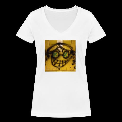 fox 3 - T-shirt bio col V Stanley & Stella Femme