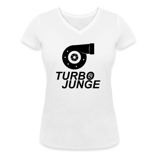 Turbojunge! - Frauen Bio-T-Shirt mit V-Ausschnitt von Stanley & Stella