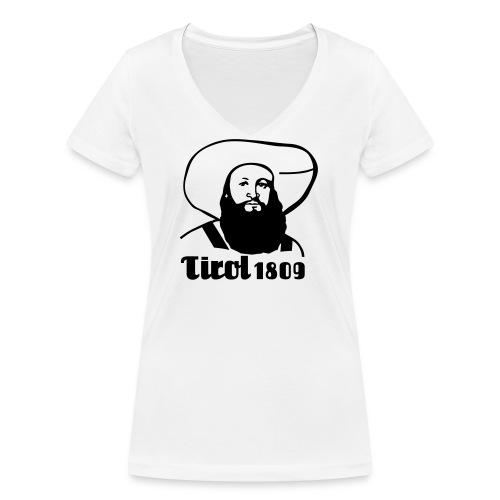 Andreas Hofer Silber1 - Frauen Bio-T-Shirt mit V-Ausschnitt von Stanley & Stella