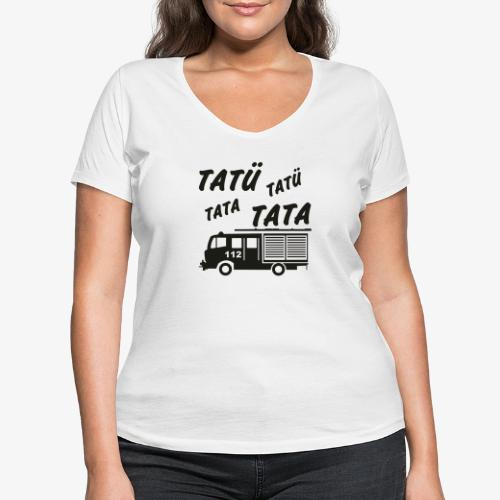 Tatü Tata - Frauen Bio-T-Shirt mit V-Ausschnitt von Stanley & Stella