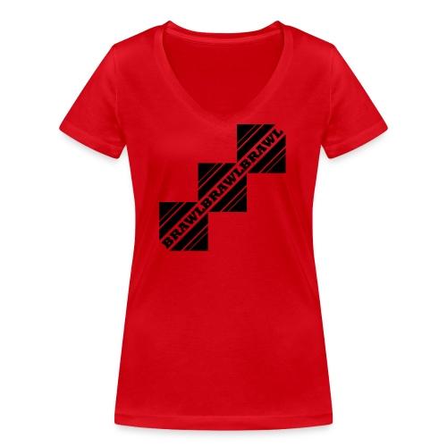 BRAWL TEST - Vrouwen bio T-shirt met V-hals van Stanley & Stella