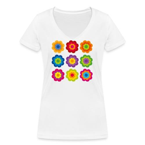 limited edition 04 - Frauen Bio-T-Shirt mit V-Ausschnitt von Stanley & Stella
