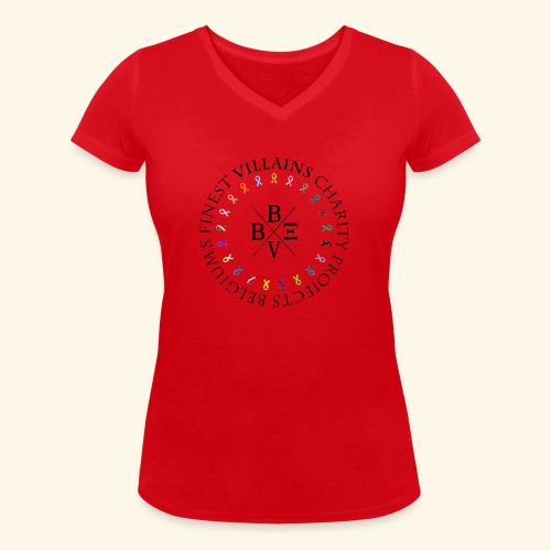 BVBE Charity Projects - Women's Organic V-Neck T-Shirt by Stanley & Stella