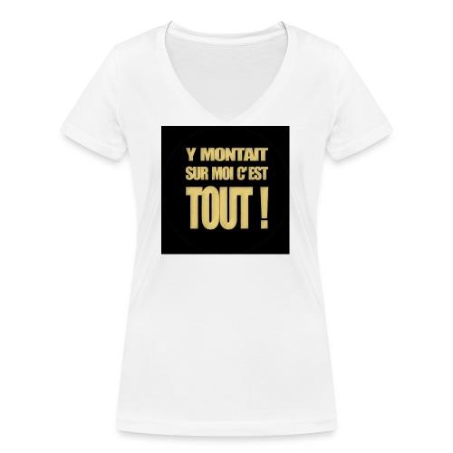 badgemontaitsurmoi - T-shirt bio col V Stanley & Stella Femme