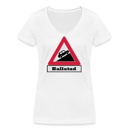 brattv ballstad a png - Økologisk T-skjorte med V-hals for kvinner fra Stanley & Stella