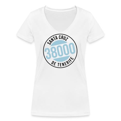 Santa Cruz de Tenerife - Frauen Bio-T-Shirt mit V-Ausschnitt von Stanley & Stella