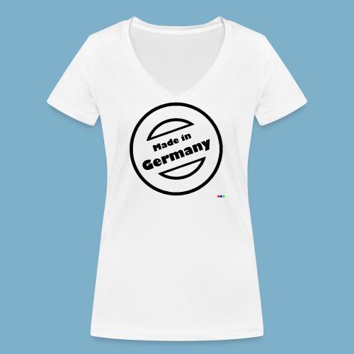 Made in Germany 2 - Frauen Bio-T-Shirt mit V-Ausschnitt von Stanley & Stella