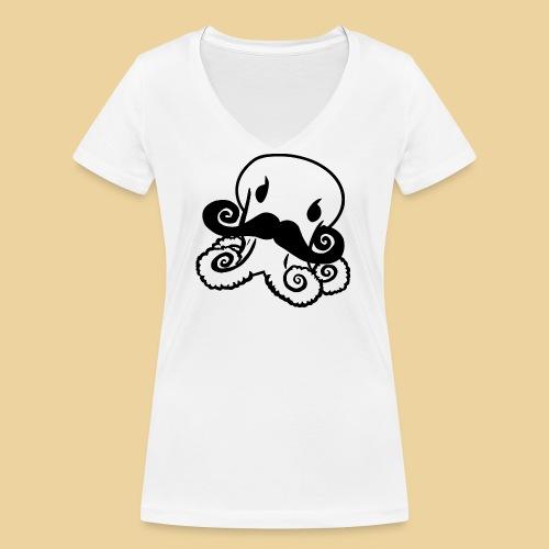 Gentle Octo - Frauen Bio-T-Shirt mit V-Ausschnitt von Stanley & Stella