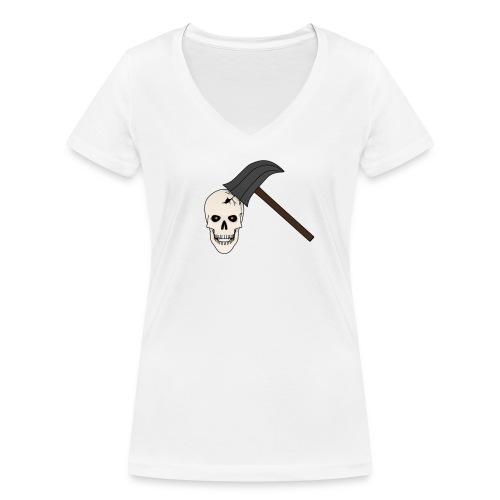 Skullcrusher - Frauen Bio-T-Shirt mit V-Ausschnitt von Stanley & Stella