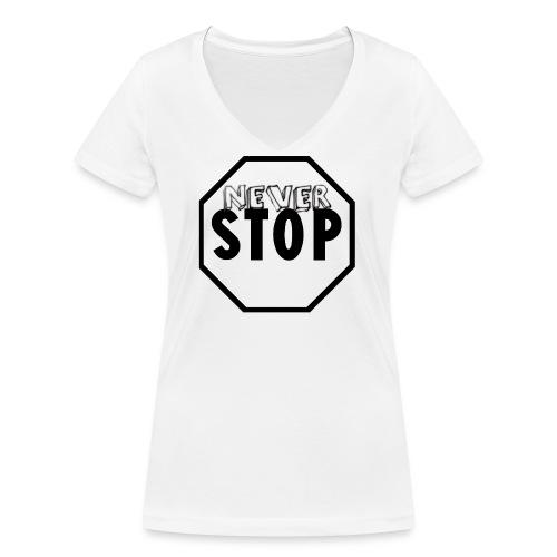 tazza caffè - T-shirt ecologica da donna con scollo a V di Stanley & Stella