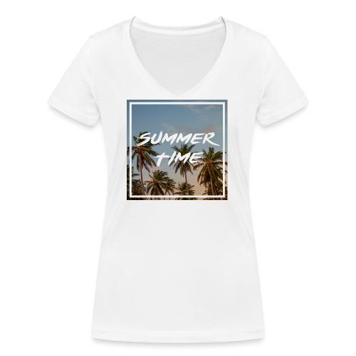 summertime - Frauen Bio-T-Shirt mit V-Ausschnitt von Stanley & Stella
