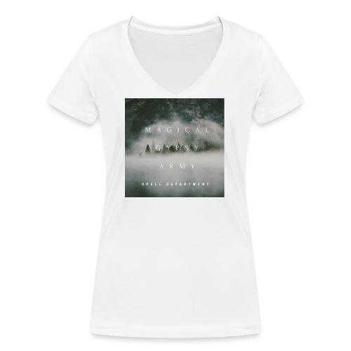 MAGICAL GYPSY ARMY SPELL - Frauen Bio-T-Shirt mit V-Ausschnitt von Stanley & Stella