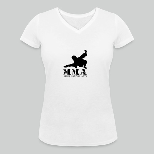 MMA Master - Frauen Bio-T-Shirt mit V-Ausschnitt von Stanley & Stella