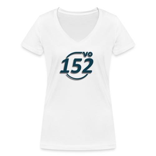 152VO Klassenzeichen petrol ohne Text - Frauen Bio-T-Shirt mit V-Ausschnitt von Stanley & Stella