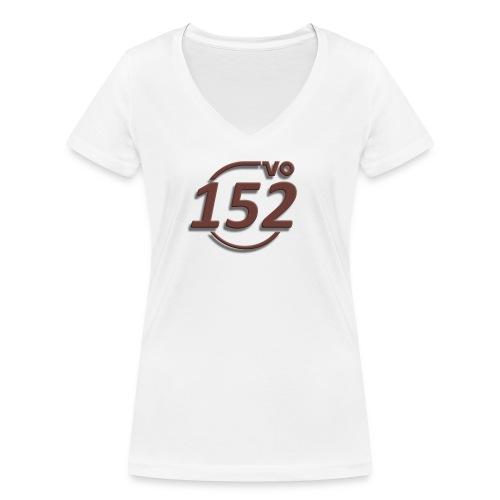 152VO Klassenzeichen mahogany ohne Text - Frauen Bio-T-Shirt mit V-Ausschnitt von Stanley & Stella