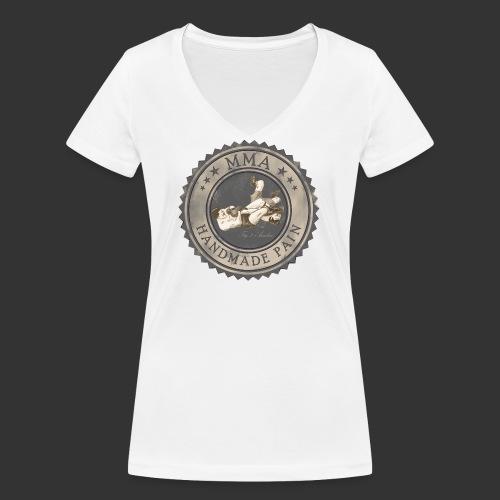 MMA Retro - Frauen Bio-T-Shirt mit V-Ausschnitt von Stanley & Stella