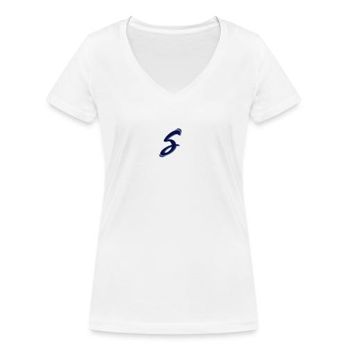 s-blue - T-shirt bio col V Stanley & Stella Femme