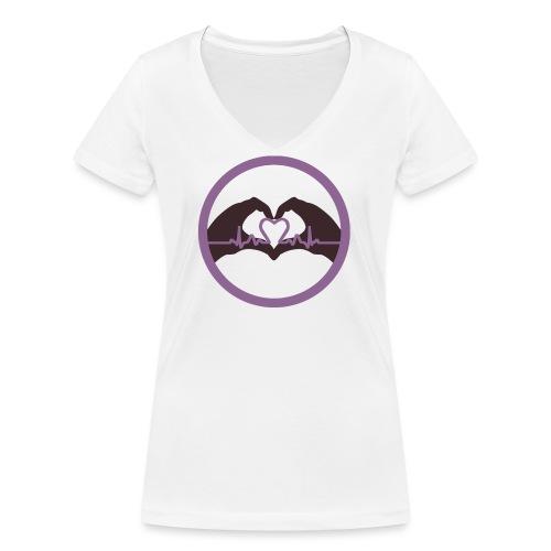 Logo ASC - T-shirt bio col V Stanley & Stella Femme