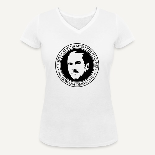 skmp - Ekologiczna koszulka damska z dekoltem w serek Stanley & Stella