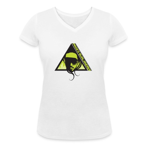 PACKO LOGO 2017 RGB PNG - Women's Organic V-Neck T-Shirt by Stanley & Stella