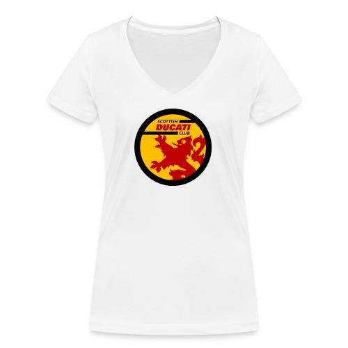 GIF logo - Women's Organic V-Neck T-Shirt by Stanley & Stella
