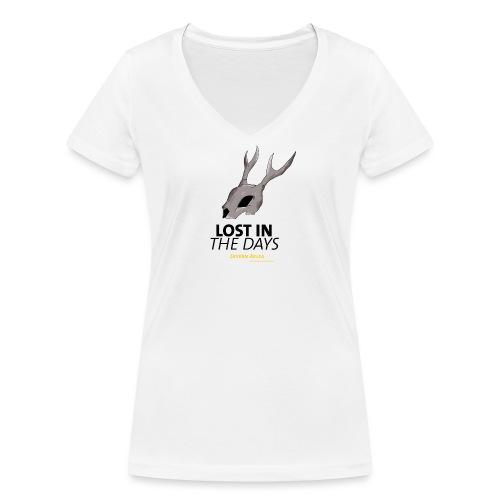 crane sky visu t shirt2 png - T-shirt bio col V Stanley & Stella Femme