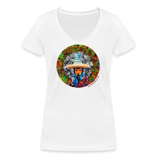 Fasnet - Frauen Bio-T-Shirt mit V-Ausschnitt von Stanley & Stella
