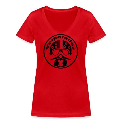 Vesparadas - Vrouwen bio T-shirt met V-hals van Stanley & Stella
