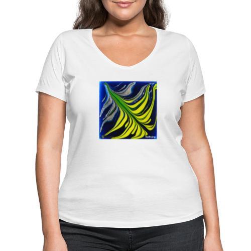 TIAN GREEN Mosaik DK037 - Hoffnung - Frauen Bio-T-Shirt mit V-Ausschnitt von Stanley & Stella