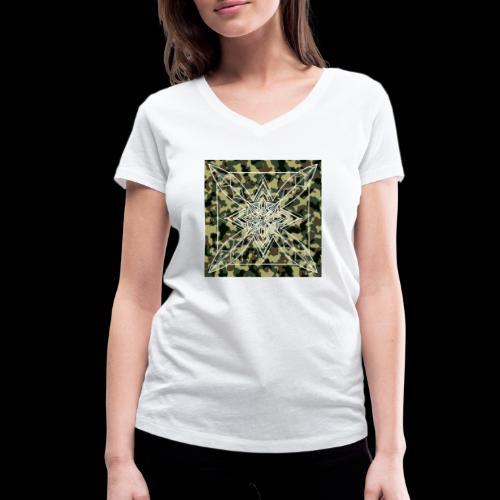 CamoDala - Women's Organic V-Neck T-Shirt by Stanley & Stella