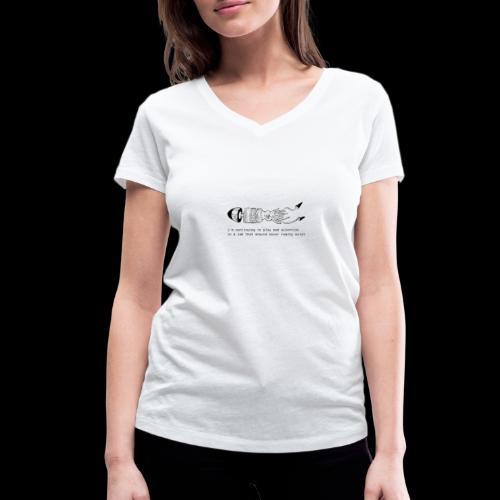 hybrid 0001 - T-shirt ecologica da donna con scollo a V di Stanley & Stella