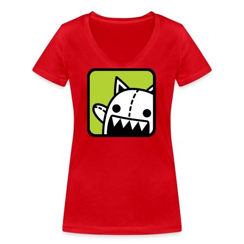 Legofarmen - Ekologisk T-shirt med V-ringning dam från Stanley & Stella