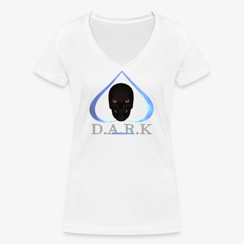 FB Logo 2017 trans halb - Women's Organic V-Neck T-Shirt by Stanley & Stella
