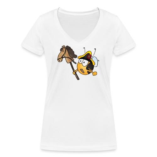 General Nachwuchs - Frauen Bio-T-Shirt mit V-Ausschnitt von Stanley & Stella