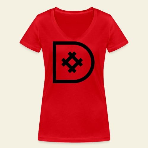 Icona de #ildazioètratto - T-shirt ecologica da donna con scollo a V di Stanley & Stella