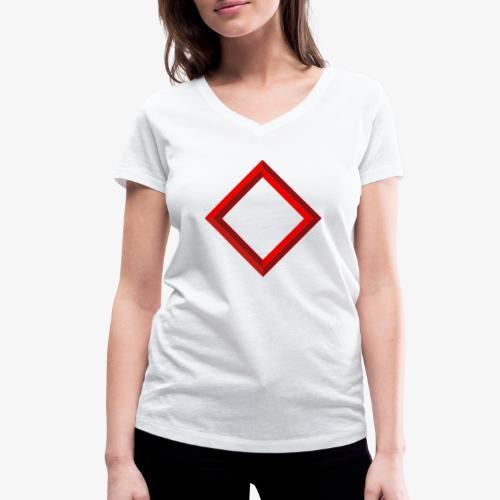 Inguz - Frauen Bio-T-Shirt mit V-Ausschnitt von Stanley & Stella