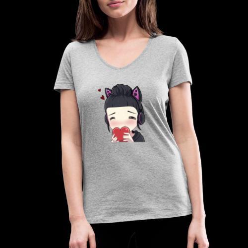 HoneyLove - Frauen Bio-T-Shirt mit V-Ausschnitt von Stanley & Stella