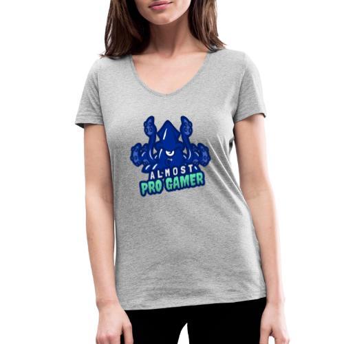 Almost pro gamer BLUE - T-shirt ecologica da donna con scollo a V di Stanley & Stella