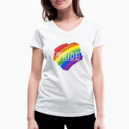 Pride - Women's Organic V-Neck T-Shirt by Stanley & Stella