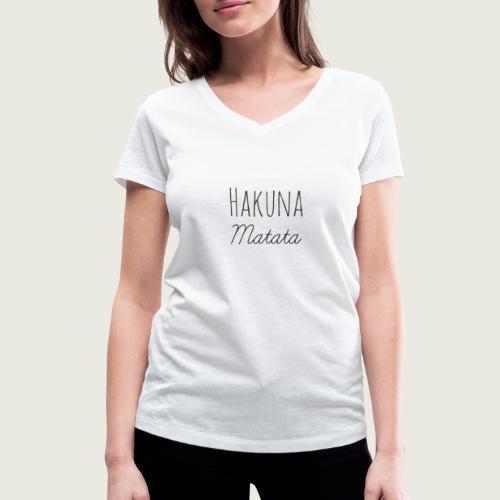 Hakuna - T-shirt bio col V Stanley & Stella Femme