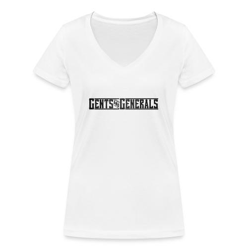 Gents&Generals Official 2013 Shirt - Frauen Bio-T-Shirt mit V-Ausschnitt von Stanley & Stella