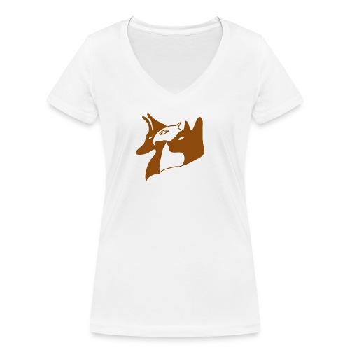 Aegypten - Frauen Bio-T-Shirt mit V-Ausschnitt von Stanley & Stella