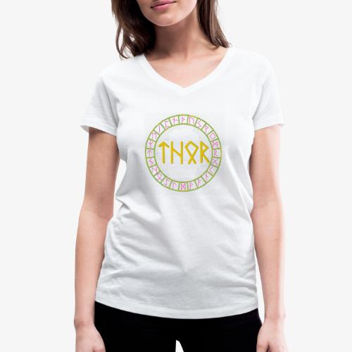 Thorrune - Frauen Bio-T-Shirt mit V-Ausschnitt von Stanley & Stella