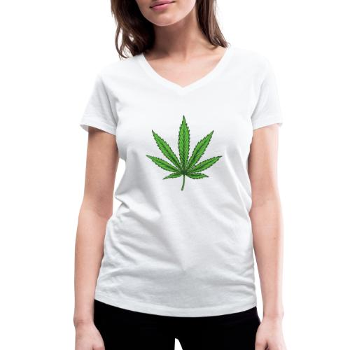 Skulls set 16 - T-shirt ecologica da donna con scollo a V di Stanley & Stella