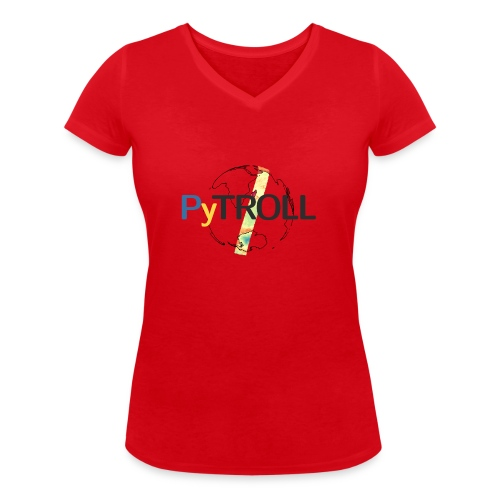 light logo spectral - Women's Organic V-Neck T-Shirt by Stanley & Stella