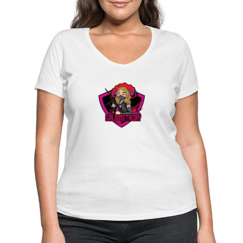 girlbongtheory - T-shirt ecologica da donna con scollo a V di Stanley & Stella